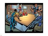 Weapon X No18 Group: Wolverine  Angel  Juggernaut  Professor X  Cyclops and X-Men