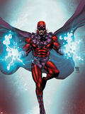 Magneto No1 Cover: Magneto Flying