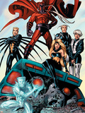 X-Men: Age of Apocalypse One Shot No1 Group: Magneto  Iceman and Quicksilver
