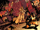 Astonishing X-Men No36 Cover: Wolverine  Cyclops  Armor  and Emma Frost
