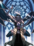 X-Men No25 Cover: Storm and Jubilee