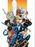The Official Handbook Of The Marvel Universe Teams 2005 Group: Captain Britain