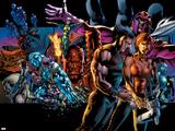 X-Men: Age of Apocalypse One Shot No1 Cover: Wolverine