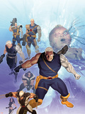 X-Men: Future History - The Messiah War Sourcebook Cover: Cable and Wolverine