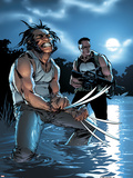 Wolverine Punisher No3 Cover: Wolverine and Punisher