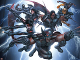 X-Force/Cable: Messiah War No1 Group: Wolverine