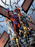 Uncanny X-Men No5341 Cover: Shadowcat  Wolverine  Magneto  Cyclops  Colossus  Namor  & Emma Frost