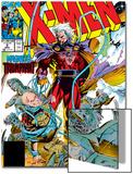 X-Men No2 Cover: Magneto and Professor X