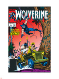 Wolverine No5 Cover: Wolverine