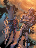 New X-Men No13 Cover: Wind Dancer  Hellion and Northstar
