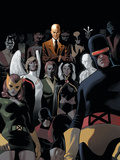 X-Men: Legacy No225 Cover: Cyclops  Marvel Girl  Beast  Angel  Storm and Professor X