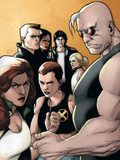 X-Factor No20 Cover: Madrox  Strong Guy  Wolfsbane  Siryn  Rictor  M  Miller and Layla