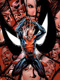 House Of M No5 Cover: Spider-Man  Peter Parker  Charging