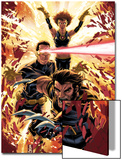Ultimatum: X-Men Requiem No1 Cover: Wolverine  Cyclops  Grey and Jean