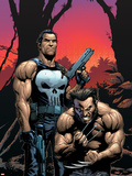 Wolverine Punisher No2 Cover: Wolverine and Punisher