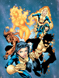 New Mutants No13 Cover: Sunspot  Wolfsbane  Cannonball  Karma  Wind Dancer and New Mutants