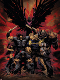 X-Force No16 Cover: Wolverine  X-23  Cable  Warpath  Apocalypse and Archangel