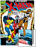 Uncanny X-Men No124 Cover: Storm  Colossus and Cyclops