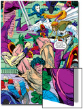 New Mutants No100 Group: Warpath  Domino  Shatterstar  Cable  Boom Boom and New Mutants