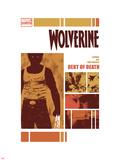 Wolverine: Debt of Death No1 Cover: Wolverine Standing