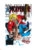 Wolverine No10 Cover: Wolverine and Sabretooth