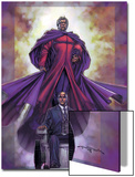 Excalibur No4 Cover: Magneto and Professor X