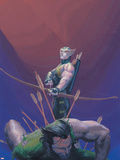 House Of M No1 Cover: Hawkeye and Wolverine