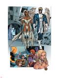 X-Men: Manifest Destiny No2 Group: Storm  Angel and Emma Frost