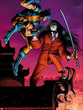 Wolverine No30 Cover: Wolverine and Gorgon