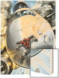New Excalibur No21 Cover: Captain Britain