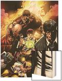 New Excalibur No22 Cover: Captain Britain  Juggernaut  Dazzler  Wisdom and Peter