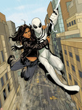 X-23 No13: Spider-Man and X-23 Swinging through the City