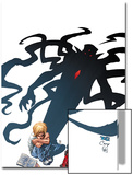 X-Men Forever No6 Cover: Nathan Summers Sitting with a Shadow