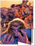 X-Men Forever No2 Cover: Sabretooth