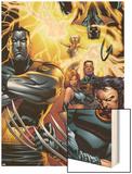 Ultimate X-Men No50 Cover: Colossus  Wolverine  Nightcrawler  Grey  Jean  Cyclops  Storm and X-Men