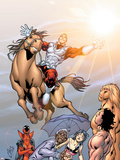 Alpha Flight No5 Cover: Major Mapleleaf and Alpha Flight