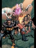 Ultimate X-Men No89 Group: Wolverine  Bishop  Beast and Angel
