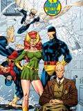 X-Men No1: 20th Anniversary Edition: Marvel Girl  Cyclops  Professor X  Beast  Angel  and Iceman