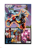 X-Men No1: 20th Anniversary Edition: Colossus and Archangel Flying