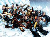 New X-Men No45 Group: Cable  Wolverine and Caliban