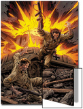 X-Men Forever No7 Cover: Wolverine and Nick Fury