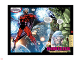 X-Men No1: 20th Anniversary Edition: Magneto Flying in Space with Energy