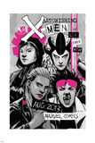 Astonishing X-Men 66 Cover: Jubilee  Warbird  Karma  Reyes  Cecilia