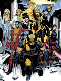 X-Men: Curse of The Mutants - Storm & Gambit No1: Wolverine  Colossus  Magik  Psylocke  Northstar
