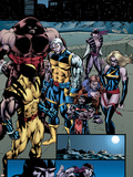 Weapon X: Days Of Future Now No4 Group: Wolverine  Juggernaut  Cable  Lady Deathstrike and Warbird