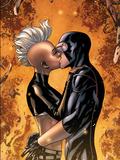 Astonishing X-Men No44: Storm and Cyclops Kissing