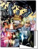 Secret Invasion: X-Men No3 Cover: Colossus and Dazzler