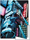 X-Men Forver 2 No9 Cover: Shadowcat Jumping