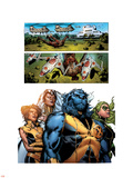Astonishing X-Men No32 Group: Beast  Brand  Abigail  Armor and Storm