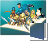 X-Force No2 Group: Cable  Shatterstar  Sunspot and X-Force Crouching
